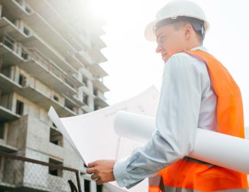Architecte pour suivi de chantier